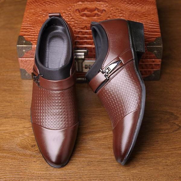British Business Dress Men's Leather Shoes