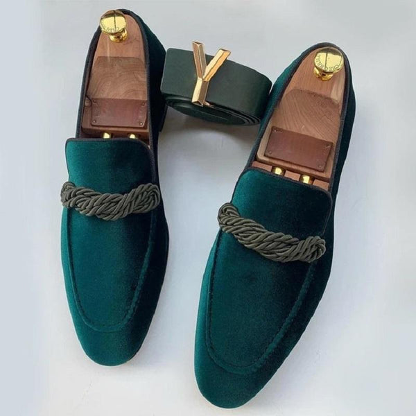 Fashionable New Suede Gentleman Loafers