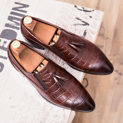 Italian Luxury Tassel Official Business Shoes