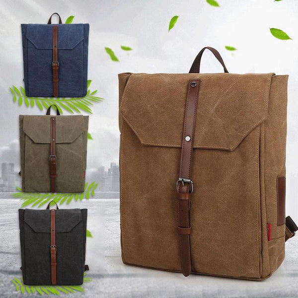 New Fashion Retro Canvas Travel Backpack