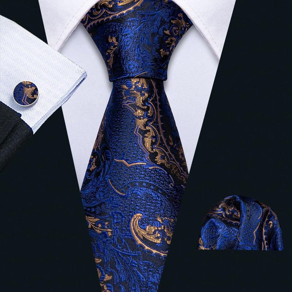 Fashion Party Woven Paisley Silk Tie