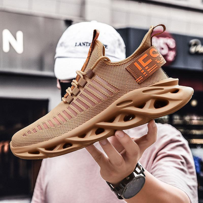 Flying woven mesh men's sneakers