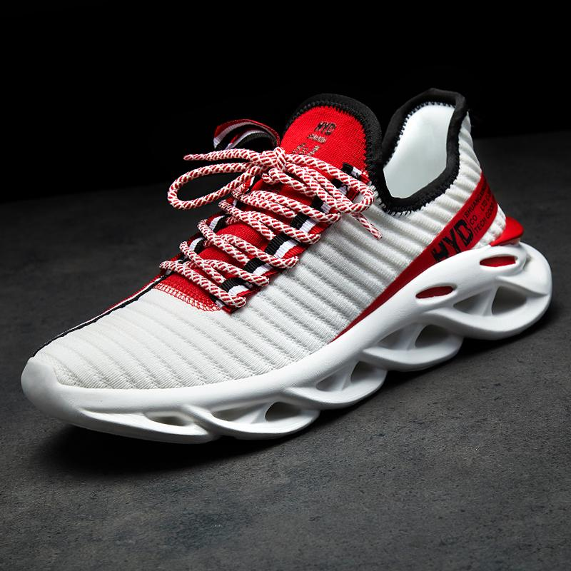 New Fashion Breathable Mesh Lightweight Sneakers