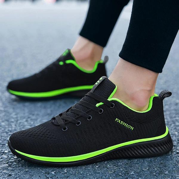 Non-Slip Lightweight Comfy Breathable Walking Shoes