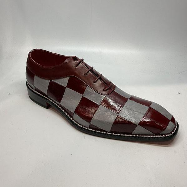 Clearance Fashion Handmade Leather Patchwork Men's Dress Shoes