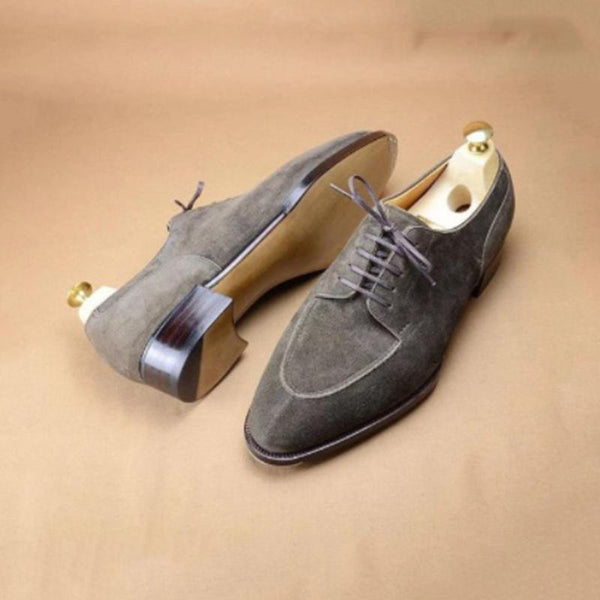 Suede Leather Vintage British Shoes