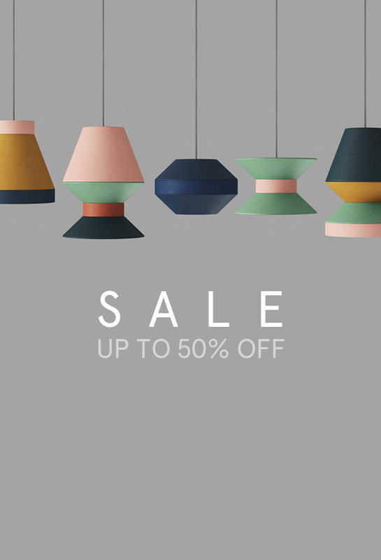 MATCHIMATCHI - customisable pendant and easy fit lampshades