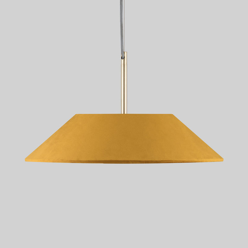 Medium Tapered Lamp Shade - Velvet