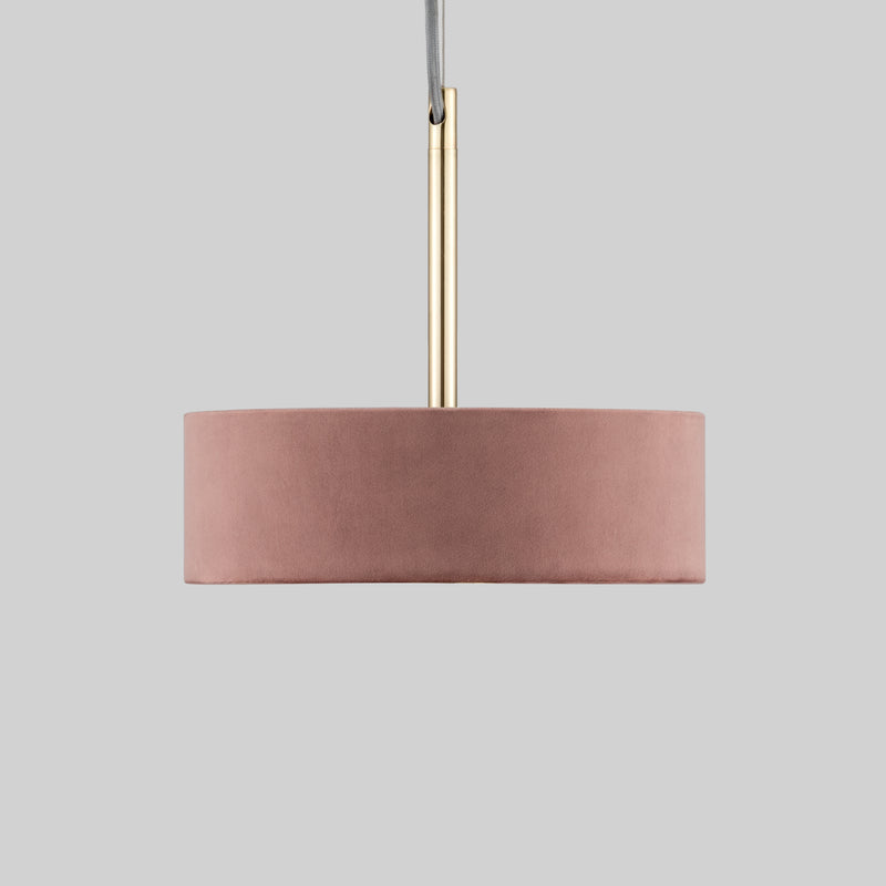 Small Drum Lamp Shade - Velvet