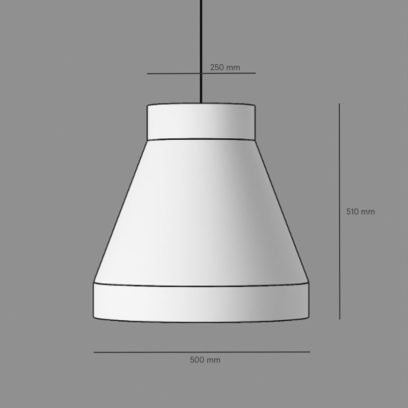 The Big One Lampshade Pendant - 1