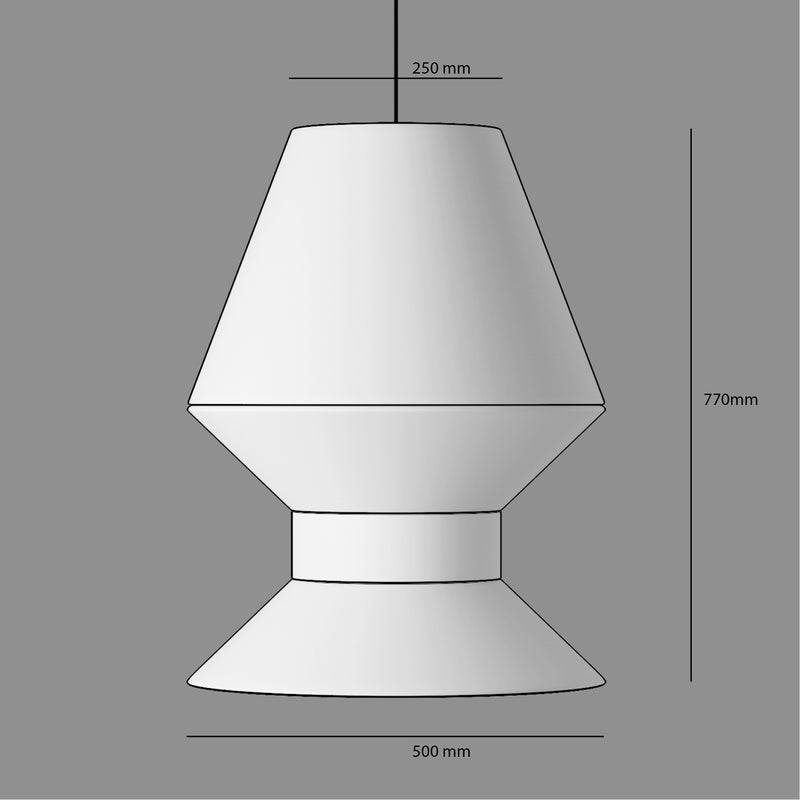 Customised Lamp Shade | The Tall One | UK Delivery | Buy from Matchimatchi.com