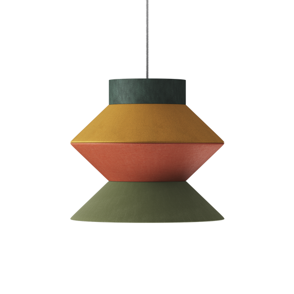 The Zigzag One Lampshade Pendant - 1