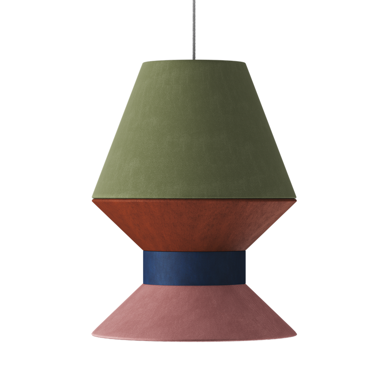 The Tall One Lampshade Pendant - 2