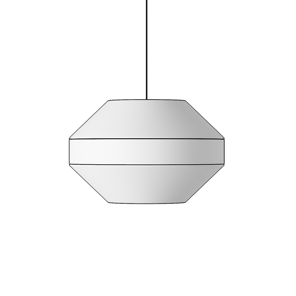 The Convex One - Lampshade Pendant