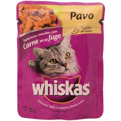 WHISKAS POUCH PAVO 8/85G