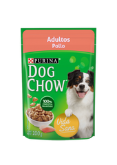 DOG CHOW ADULTO POLLO 20 SOBRES DE 100 GRS.