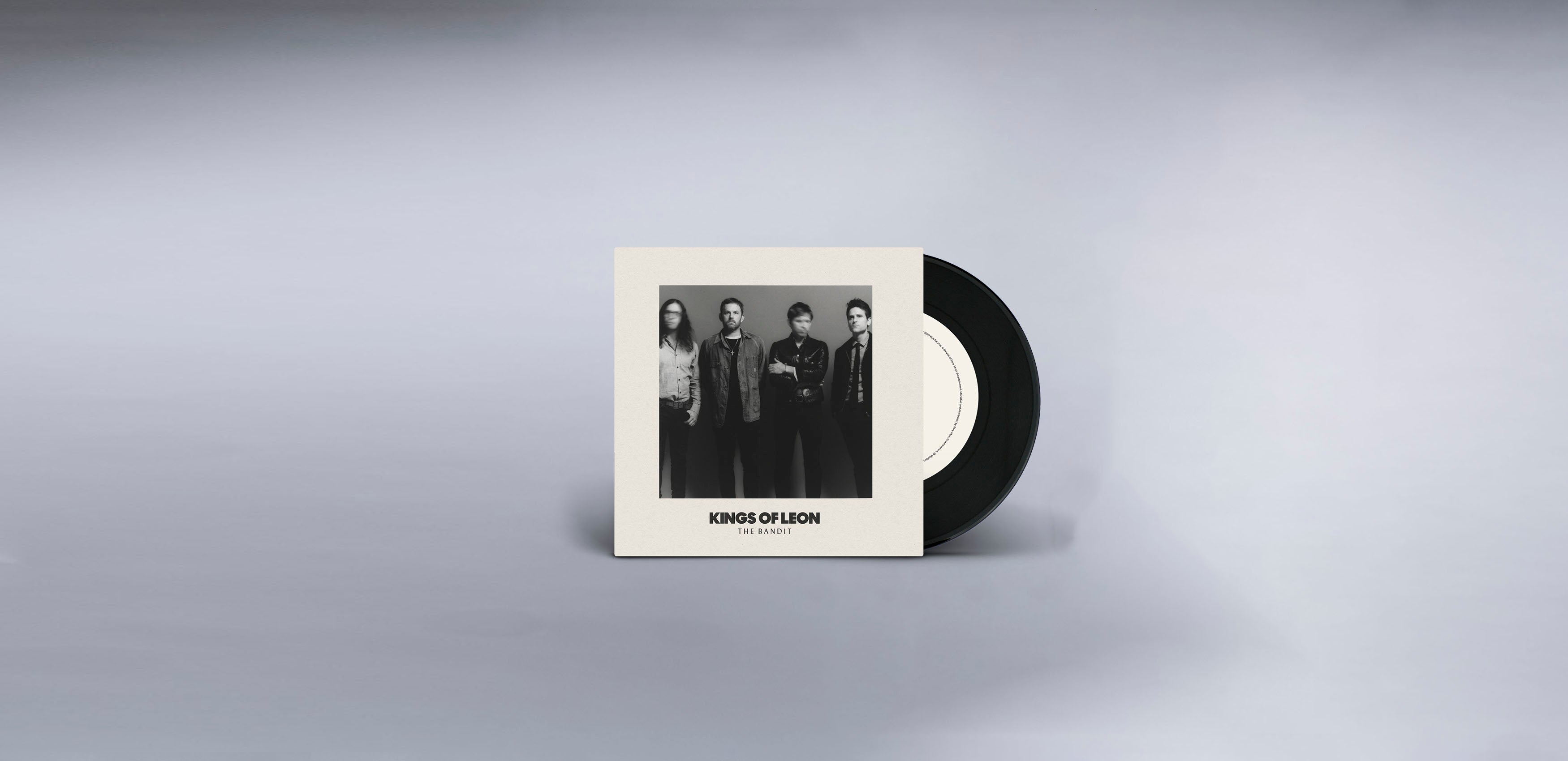 "Limited Edition - The Bandit / 100,000 People 7"" Vinyl"