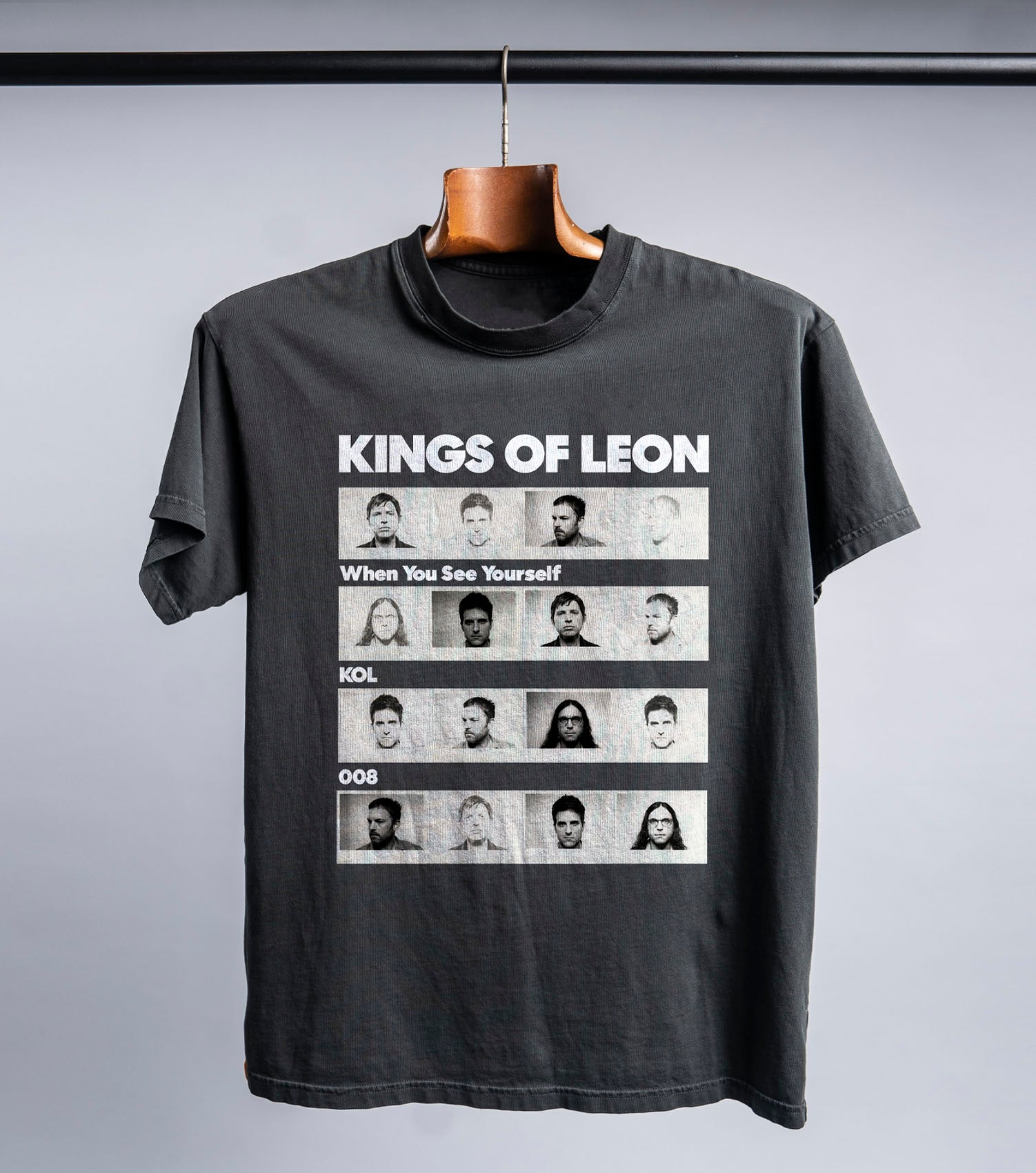 KOL8 Film Strip T-shirt (vintage black)