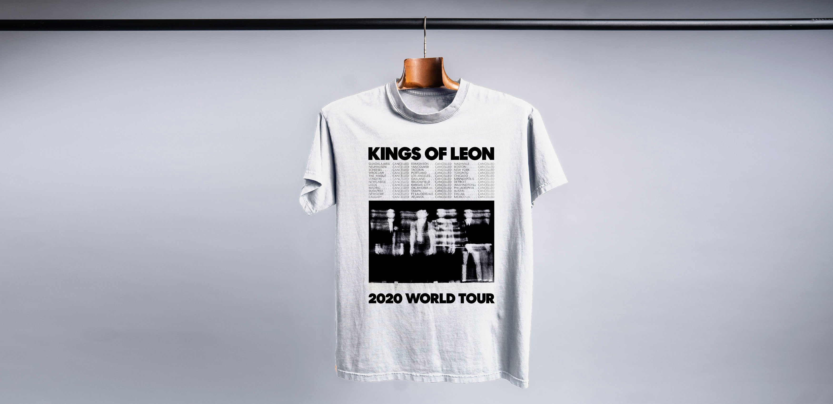 *Cancelled* World Tour 2020 T-shirt (White)