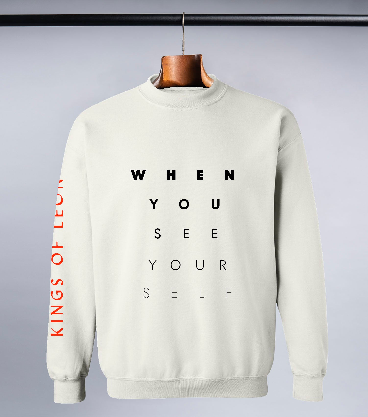 KOL Eyechart Sweatshirt (Cream White)