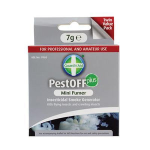 Guard'n'Aid PestOFF Plus Mini Fumer - Pack of 2