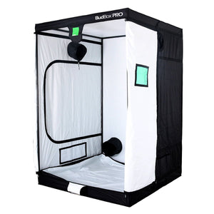 Budbox Pro Grow Tent - XL plus-HL White (150 x 150 x 220)
