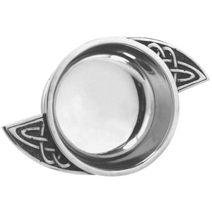 2.5 Celtic Swirl Handle Quaich