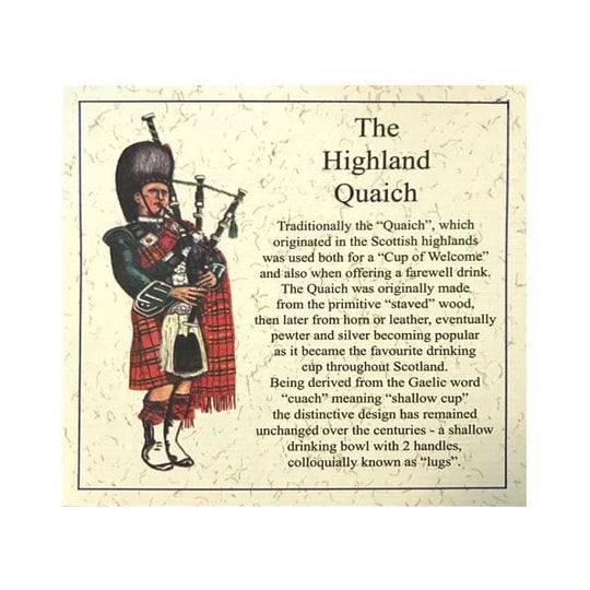 4.5 Thistle Handle Quaich