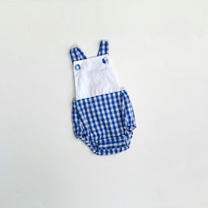 Gingham Sunsuit