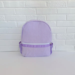 Seersucker Full-Size Backpack