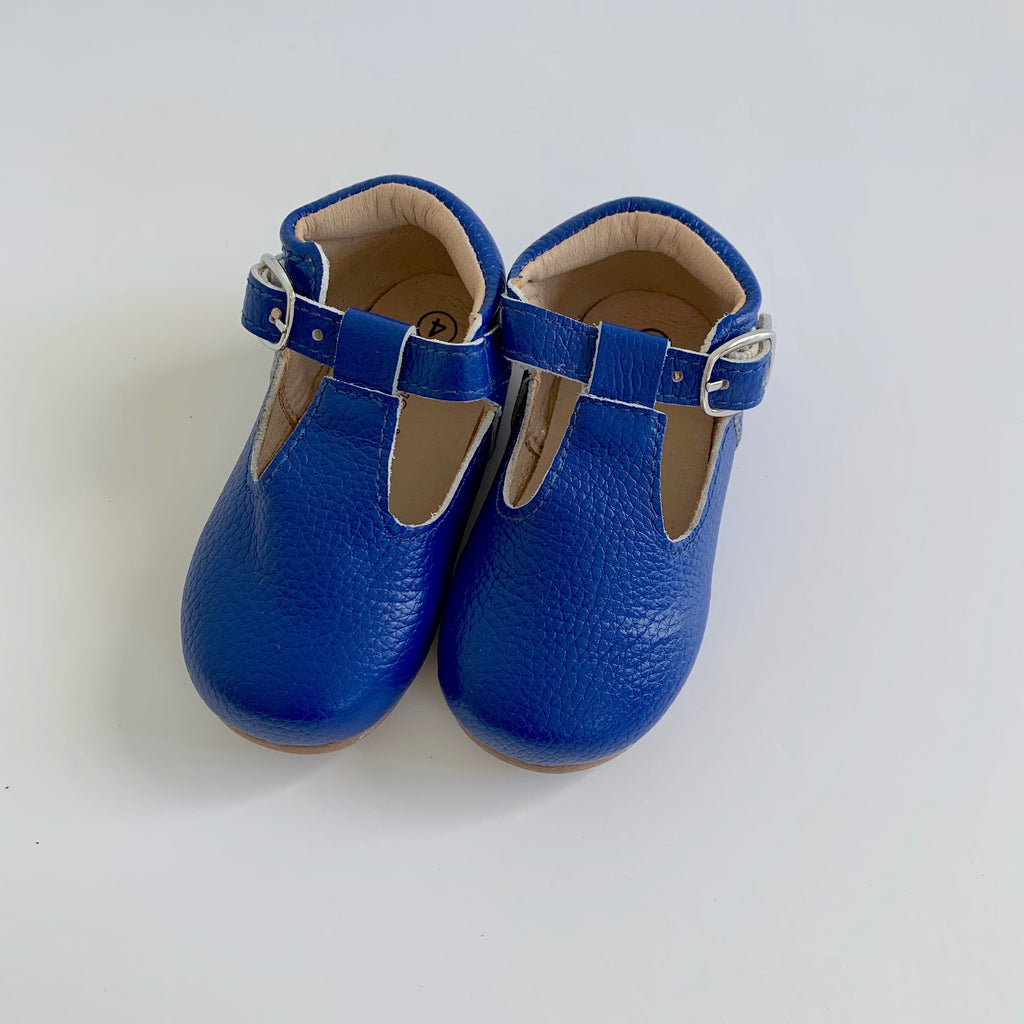 Cobalt T-Strap Shoes