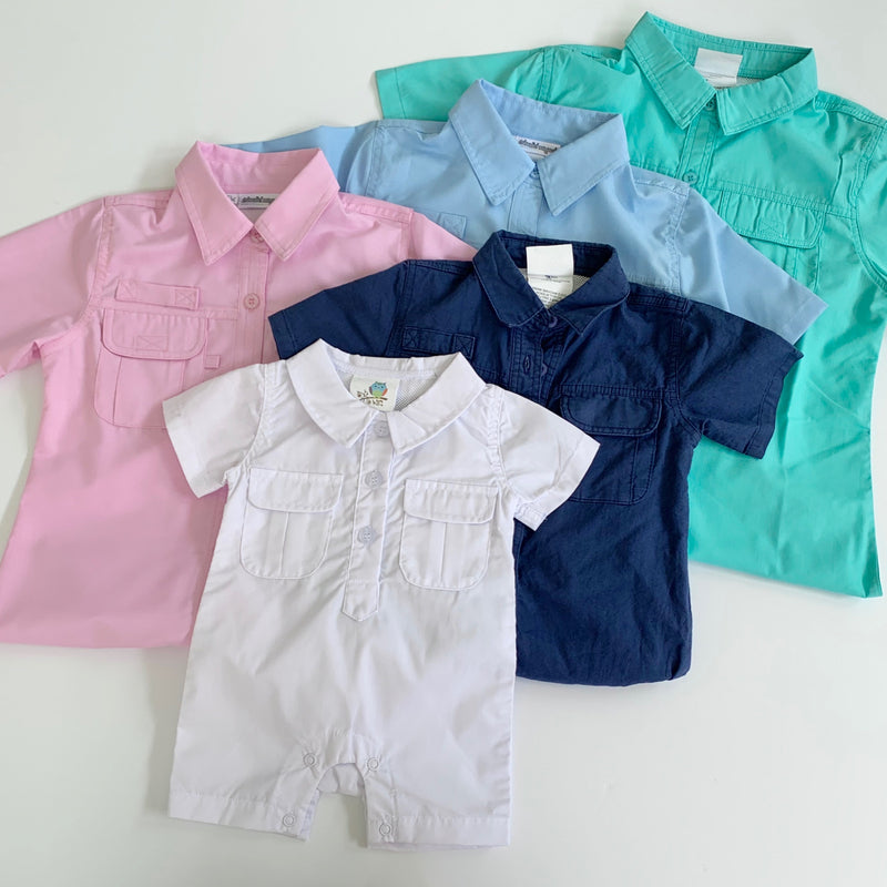 Children's Fishing Shirt ROMPER