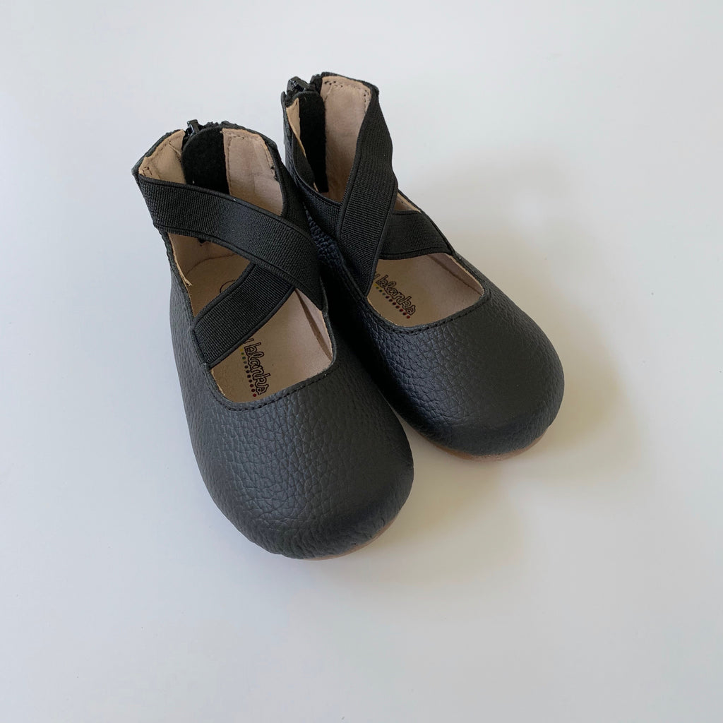 Black Ballet Flat Shoes