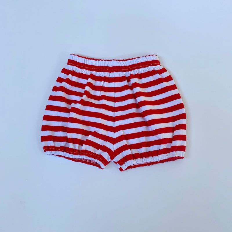 Red/White Bubble Shorts
