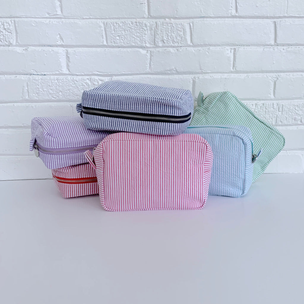 Seersucker Toiletry Bag