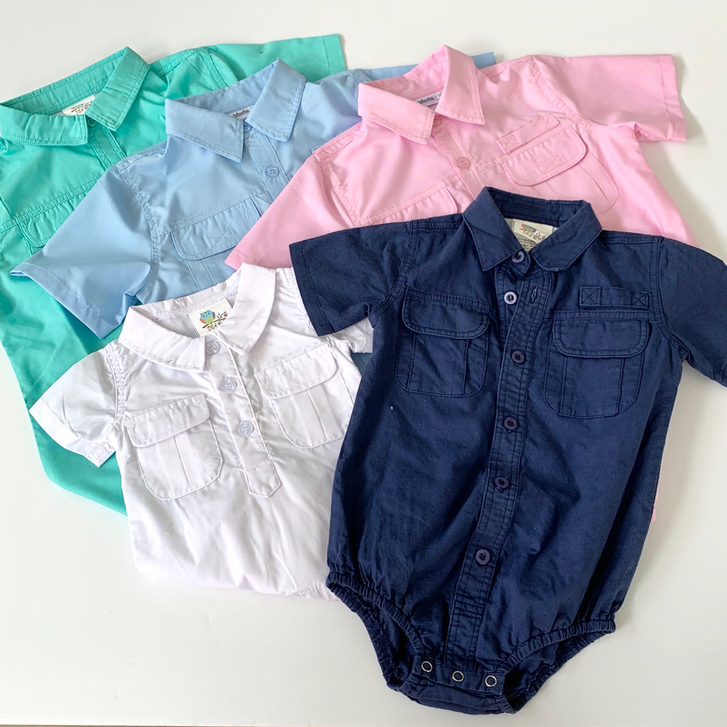 Children's Fishing Shirt ONESIE