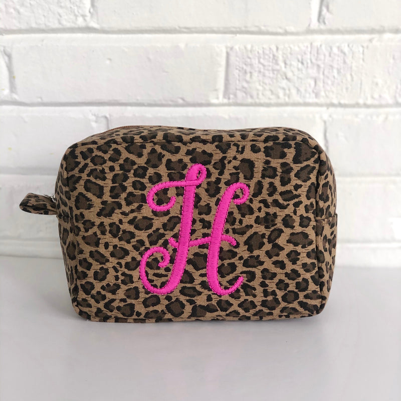 Leopard Print Everything Bag