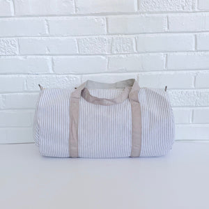 PRE-ORDER Seersucker Duffles—ships end of July—DO NOT purchase with other in-stock items OR other pre-orders with different delivery dates