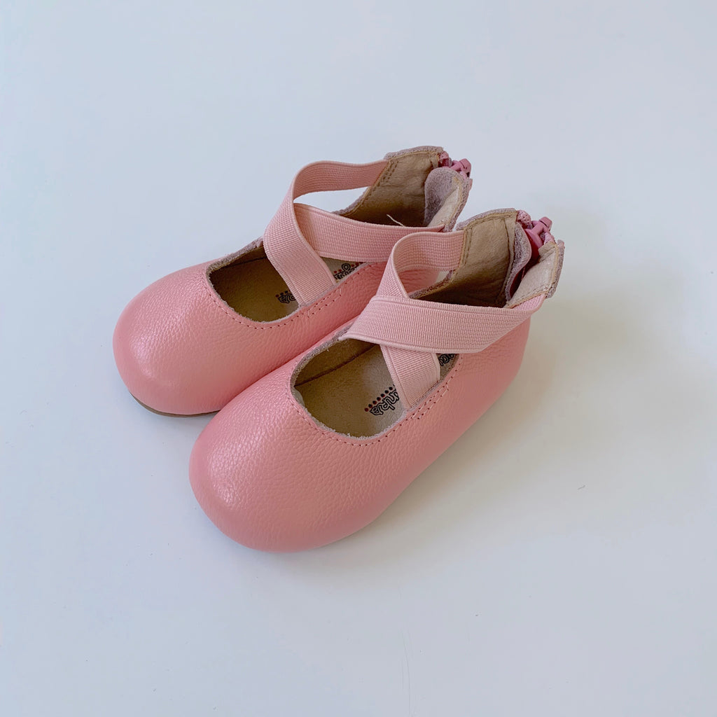 Pink Ballet Flat Shoes