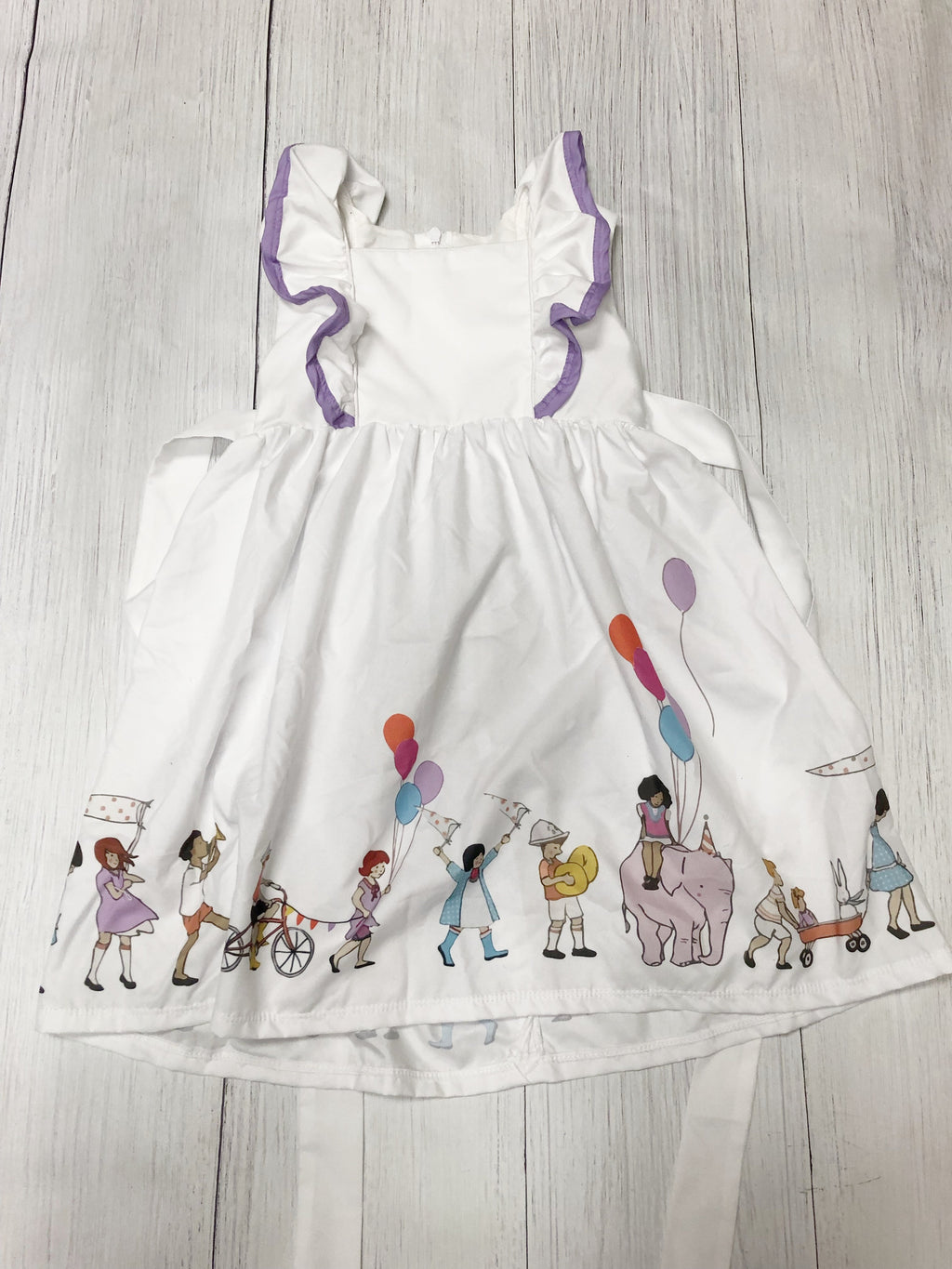 Birthday Dress with Marching parade