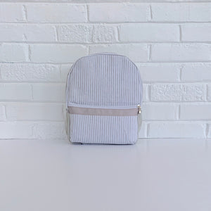 Seersucker Toddler Size Backpack