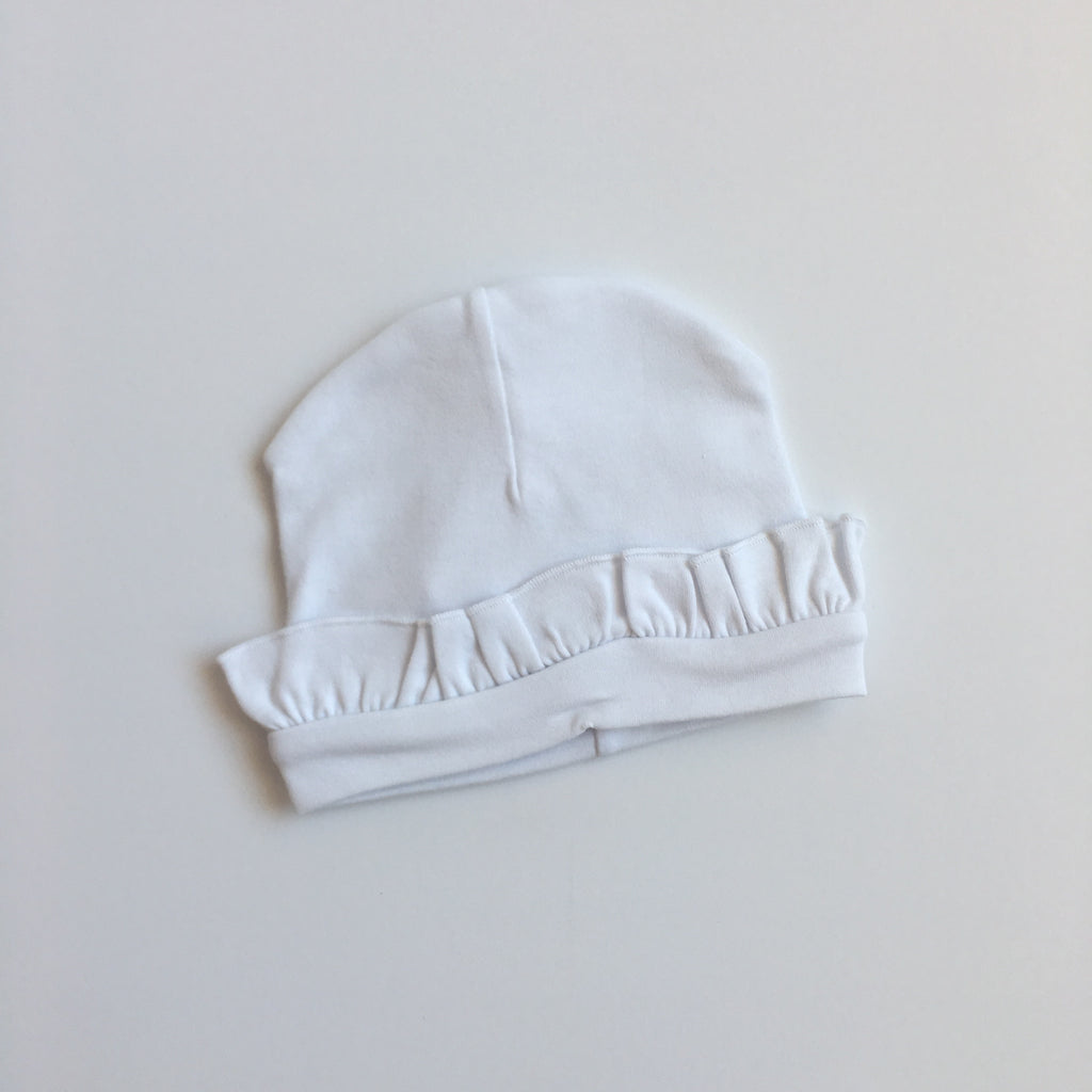 Ruffle Infant Hat