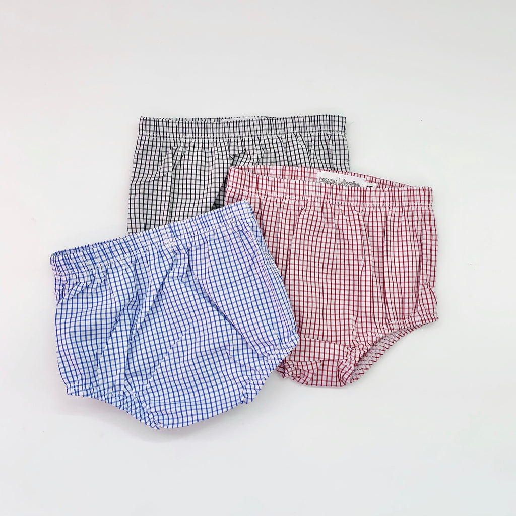 Black Windowpane Bloomers