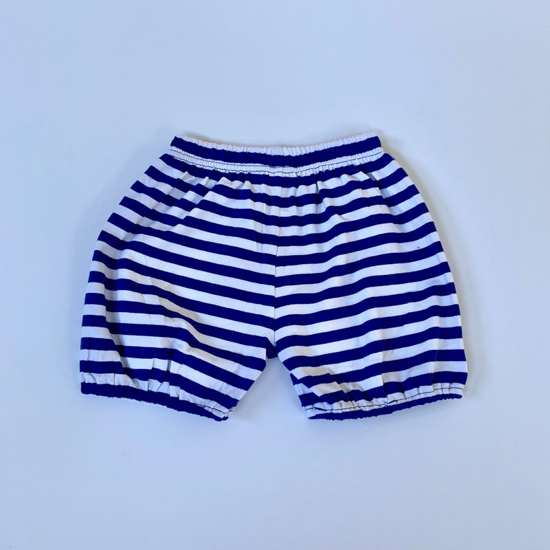 Royal/White Bubble Shorts