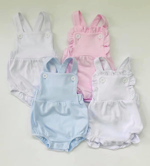Ruffle Knit Sunsuit
