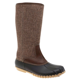 Tall Duck Boots -Brown
