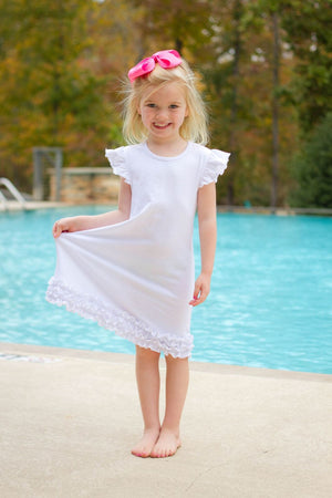 Sublimation Dress - Icing Ruffle