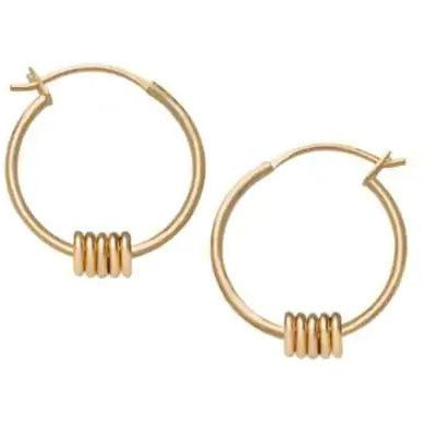 ROSEFIELD Multi Hoop Earrings