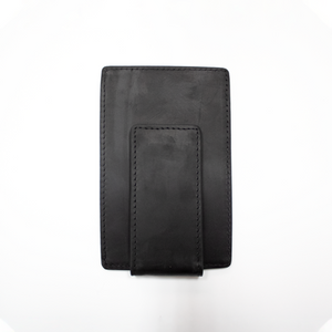 HELM Money Clip Wallet- Black