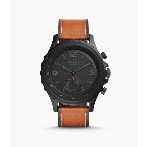 Fossil Q Nate Smartwatch Leather